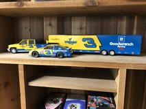 Dale Earnhardt collector set in Moody AFB, Georgia