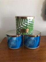 3-wick NEW Bath and Body Works Candlesl in Elgin, Illinois