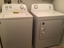 Under 2 years Amana Washer &  Dreyer Set in St. Charles, Illinois