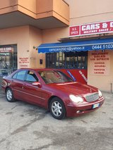 04 MERCEDES C220 - AUTOMATIC - GASOLINE - 1 YR WARRANTY in Vicenza, Italy