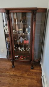 Antique china cabinet in West Orange, New Jersey