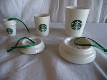 Starbucks ceramic nesting ornaments in Fairfield, California