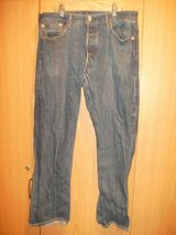 Levi's 501 XX Men Medium Wash Button Fly (T=30) in Fort Campbell, Kentucky