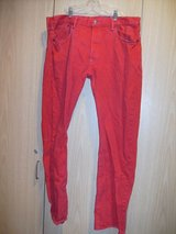 Super Rare Vintage Levis 501/Red Jeans Levis 501 (T=30) in Fort Campbell, Kentucky