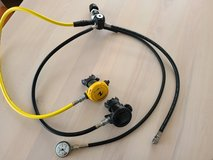 Aqualung Titan LX Scuba Diving Regulator Set YOKE in Okinawa, Japan