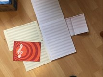 staves note books in Ramstein, Germany