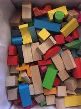 wooden blocks in Stuttgart, GE