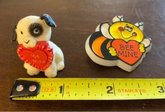 Vintage Valentine Dog/Pin in St. Charles, Illinois