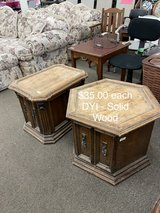 End Tables (each) DYI Solid Wood in Fort Leonard Wood, Missouri