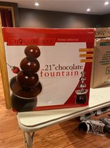 Chocolate Fountain in St. Charles, Illinois