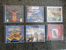 Collection of 30 vintage computer games in like new condition - selling as one lot in Spring, Texas