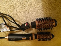 3 in-1 Hot Air Spin Brush for Styling and Frizz Control Auto-rotating Curling Negative Ionic Hai... in Naperville, Illinois