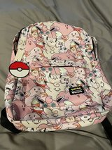 Pokémon backpack in Okinawa, Japan