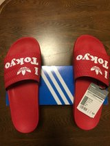 Adidas Adilette Slides in Okinawa, Japan
