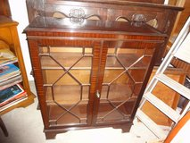 Display cabinet bookcase England  mahogany in Wiesbaden, GE