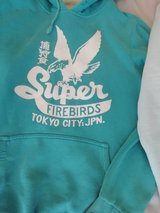 superdry hoodie  this one has the choppy  cuffs in Lakenheath, UK