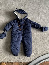 12-18 a month blue snowsuit in Stuttgart, GE