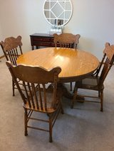 Dining table and chairs in Elgin, Illinois