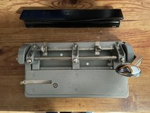 Bates Heavy Duty Adjustable hole puncher in Batavia, Illinois