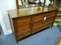 Wood Dresser with Mirror in Naperville, Illinois