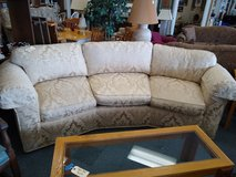 Curved Sofa from Marshall Fields in Naperville, Illinois