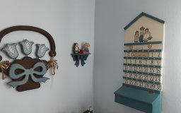Child's wooden room decor in Kingwood, Texas