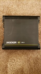 Kicker 500W Amplifier in Naperville, Illinois