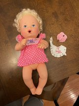 Vintage 1990 Baby Alive Doll in Naperville, Illinois