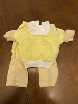 Vintage Cabbage Patch Doll Outfit Pink & Yellow in Naperville, Illinois