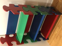 Kidkraft Puzzle Shaped Bookcase Book shelf Toy Storage in Bartlett, Illinois