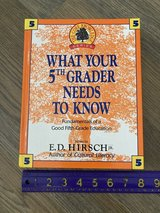 What Your 5th (Fifth) Grader Needs to Know Hardcover Book in Naperville, Illinois