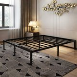 14 Inch Platform Bed Frame - CA King - No Box Spring Needed - New! in Bolingbrook, Illinois