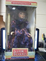 GENUINE FINE BISQUE PORCELAIN CLASSIC TREASURES DOLL Special Edition in Fort Campbell, Kentucky