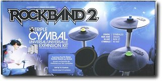 Rock Band 2 Cymbal Expansion Kit in 29 Palms, California