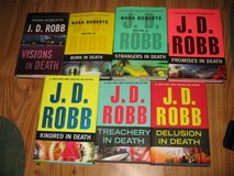 """J.D. ROBB (NORA ROBERTS) """"IN DEATH"""" - 7 HARDCOVERS in Morris, Illinois"""