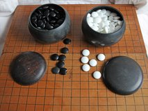 Authentic Go game board in Okinawa, Japan