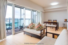 Chatan 75sqm, 3LDK, Fully Furnished Premium Condo in Okinawa, Japan