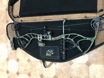 Bowtech Captain Left Handed w/ arrows and case in Ansbach, Germany
