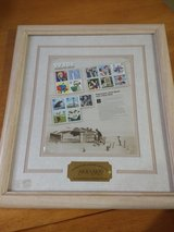 "STAMP COLLECTION~ 1930's~ ""CELEBRATE THE CENTURY"" FRAMED COLLECTION (1930""s) in Batavia, Illinois"