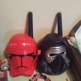 Like new star wars walkie talkies with new batteries in Bolingbrook, Illinois