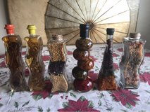 Beautiful glass decorative bottles in Clarksville, Tennessee