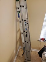 Warner 18'' Aluminum Extension Ladder in Warner Robins, Georgia