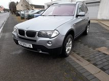 2008 AUTOMATIC BMW X3 2,0  4X4 (AWD)*TURBO DIESEL *LOW KM * NEW INSPECTION *1 Year gurantee... in Spangdahlem, Germany