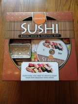 Complete Sushi Book, DVD, and Serving Kit in Spring, Texas