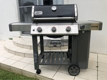 Weber Grill with iGrill Temp Guage in Okinawa, Japan