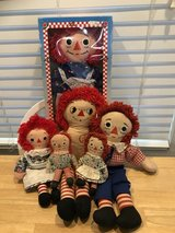 Raggedy Ann and Andy Dolls in Beaufort, South Carolina