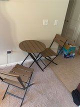 Foldable Outdoor Table and Chairs in Lancaster, Pennsylvania
