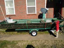 John Boat with Trailer in Clarksville, Tennessee