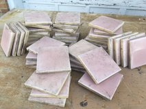 70 Vintage Pink Ceramic Tiles in Batavia, Illinois