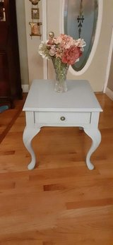 Blue/ Gray table in West Orange, New Jersey